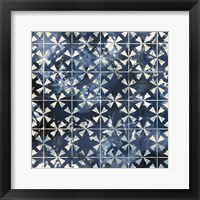 Framed Tile-Dye III