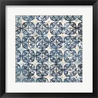 Framed Tile-Dye IV