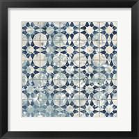 Framed Tile-Dye VIII
