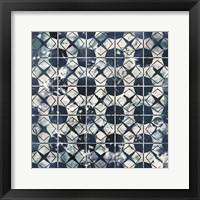 Framed Tile-Dye IX
