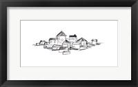 Citadel Sketch I Framed Print