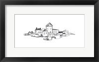 Citadel Sketch II Framed Print