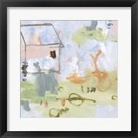 Hopscotch Doodles II Framed Print