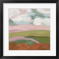 Violet Fields II Framed Print