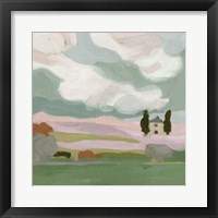 Violet Fields III Framed Print