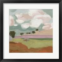 Violet Fields IV Framed Print