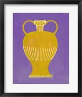 Neon Vase I Framed Print