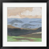 Distant Hills II Framed Print