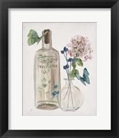 Butterflies & Flowers I Framed Print