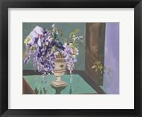 Blooming Wisteria II Framed Print