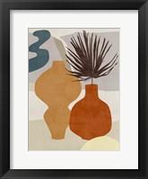 Decorated Vases III Framed Print