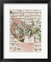 Wrapped Bouquet IV Framed Print