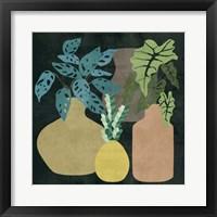 Decorative Vases II Framed Print
