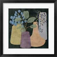 Decorative Vases III Framed Print