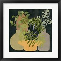 Decorative Vases IV Framed Print