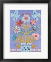 Embroidered Garden IV Framed Print