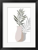 Vase & Stem II Framed Print