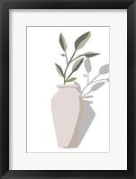 Vase & Stem IV Framed Print
