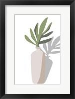 Vase & Stem VI Framed Print