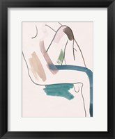 Seated Female Figure II Framed Print