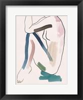 Seated Female Figure VI Framed Print