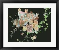 Blooming in the Dark II Framed Print