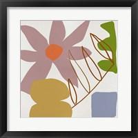 Flower Petals II Framed Print