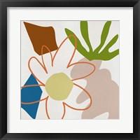 Flower Petals VI Framed Print