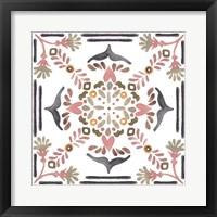 Summertime Ceramic I Framed Print