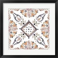 Summertime Ceramic II Framed Print