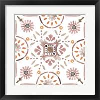 Summertime Ceramic IV Framed Print