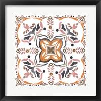 Summertime Ceramic VI Framed Print