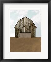 A Barn's Portrait I Framed Print