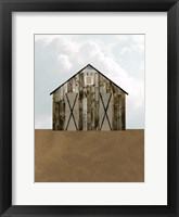 A Barn's Portrait III Framed Print