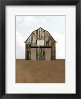 A Barn's Portrait IV Framed Print