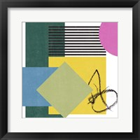 Pianist III Framed Print