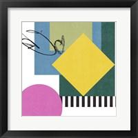 Pianist IV Framed Print