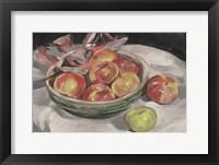 Autumn Apples I Framed Print