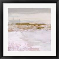 Magenta Skyline I Framed Print