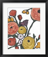 Stretching Blooms II Framed Print