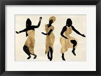 Celebration Dance I Framed Print