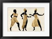 Celebration Dance II Framed Print