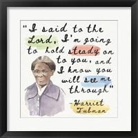 Harriet Tubman I Framed Print