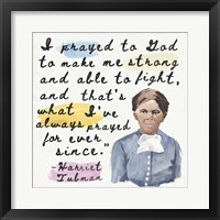 Harriet Tubman II Framed Print
