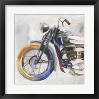 Framed Moto Metal I