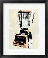 Retro Kitchen Appliance I Framed Print