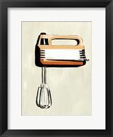 Retro Kitchen Appliance III Framed Print