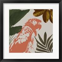 Graphic Tropical Bird I Framed Print