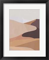Desert Dunes I Framed Print