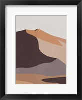 Desert Dunes II Framed Print